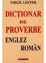 Dictionar de proverbe englez roman