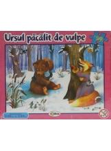 Puzzle Ursul pacalit de vulpe 30 piese
