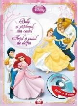Disney Audiobook. Belle si catelusul din castel. Ariel si puiul de delfin +CD