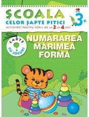 SCSP Numararea Marimea Forma 3-4 ani 3+