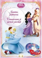 Disney Audiobook. Jasmine, petitoarea. Cenusareasa si soriceii pierduti +CD
