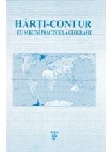Harti contur cu sarcini pratice la geografie cl 11
