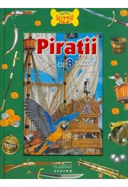 Piratii Carte cu puzzle