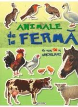 Animale de la ferma. Cu peste 50 de abtibilduri