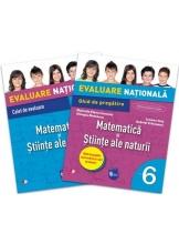Evaluare nationala. Matematica si stiinte ale naturii. Ghid de pregatire. Clasa a VI-a