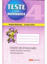 Teste de evaluare Matematica cl 4-a