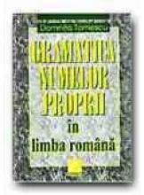 Gramatica numelor proprii in limba romana