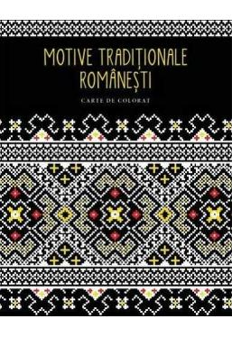Motive traditionale romanesti. Carte de colorat