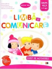 Limba si comunicare. Caiet de activitati. Grupa mica 3-4 ani