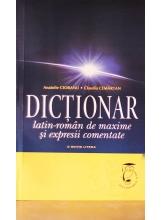 Dictionar latin-roman de maxime si expresii comentate